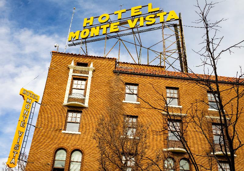 Haunted Places Series: Hotel Monte Vista